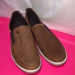 ECCO Men Shoes Casual Slip On